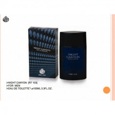 COLONIA NIGHT CANYON FOR MEN 100ML. REAL TIME