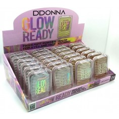 ILUMINADOR  GLOW READY (0.79€ UNIDAD) PACK 24  D'DONNA