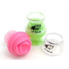 LIPBALM 6 SABORES (0.75€ UNIDAD) PACK 24 YES LOVE