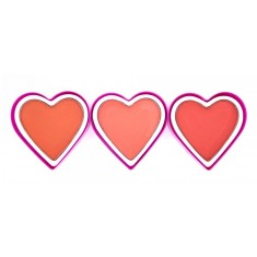 BLUSHIN HEARTS 3 COLORES(0.69€ UNIDAD) PACK 24  D'DONNA
