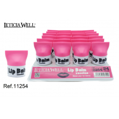 LIPBALM VASELINA 6GR. (0.55€ UNIDAD) PACK 24  LETICIA WELL