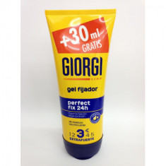 GEL FIJADOR GIORGI PERFECT FIX 48H NIVEL 3 EXTRA FUERTE 185ML.