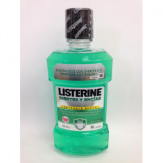 ENJUAGUE BUCAL LISTERINE ADVANCED REDUCE EL SARRO PARA PREVENIR MANCHAS 500ML.