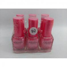 LACA DE UÑAS EASY PARIS COLOR 92 (0.45 UNIDAD) PACK 6