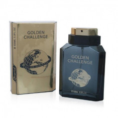EAU DE TOILETTE FOR MAN GOLDEN CHALLENGE 100ML. OMERTA