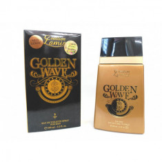 EAU DE TOILETTE GOLDEN WAVE FOR MEN 100ML. LAMIS