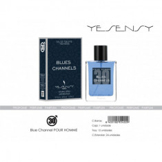 EAU DE TOILETTE BLUES CHANNELS POUR HOMME 100ML. YESENSY