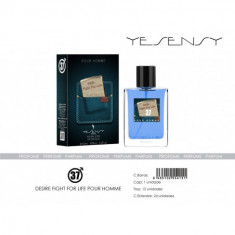 EAU DE TOILETTE DESIRE FIGHT FOR LIVE POUR HOMME 100ML. YESENSY