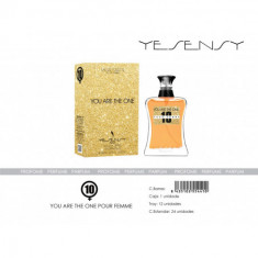 EAU DE TOILETTE YOU ARE THE ONE POUR FEMME 100ML. YESENSY