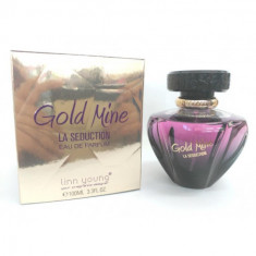 EAU DE PARFUM GOLD MINE LA SEDUCTION POUR FEMME 100ML. LINN YOUNG