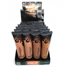 Maquillaje fluido Spf tubo  4 colores(UNIDAD 0.55€'¬)pack 24   d donna