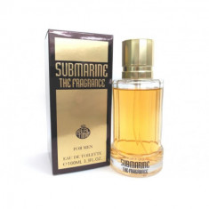 EAU DE TOILETTE SUBMARINE THE FRAGANCE POUR HOMME 100ML. REAL TIME