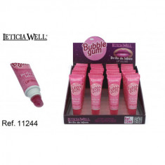 LIPGLOSS BUBBLE GUM (0.50€'¬ UNIDAD)PACK 24  LETICIA WELL