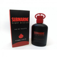 EAU DE TOILETTE SUBMARINE NIGHT MISSION POUR HOMME 100ML. REAL TIME