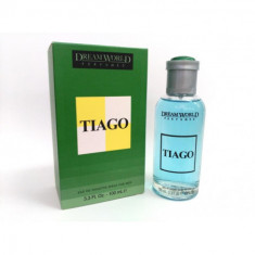 EAU DE TOILETTE TIAGO POUR HOMME 100ML.  DREAM WORLD