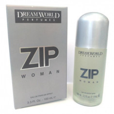 EAU DE PARFUM ZIP POUR FEMME 100ML.  DREAM WORLD