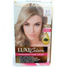 TINTE PARA CABELLO LUXE COLOURS PERMANENTE KID COMPLETO  MISS MAGIC