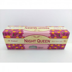 INCIENSO  NIGHT QUEEN  (0.31€'¬ PAQUETE) PACK 6 PAQUETES  SARATHI INTERNACIONAL