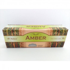 INCIENSO  AMBER  (0.31€'¬ PAQUETE) PACK 6 PAQUETES  SARATHI INTERNACIONAL