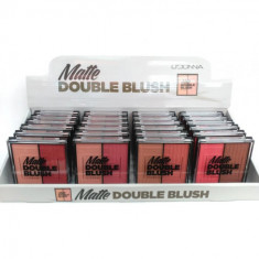 PALETA DE COLORETE DOUBLE BLUSH MATTE (0.69€'¬ UNIDAD) PACK 24  d dONNA