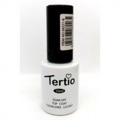 LACA DE UÑAS GEL POLISH SEMIPERMANENTE SECADO UVA/LED  TOP COAT 10ML.  TERTIO