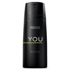 DESODORANTE AXE  YOU  150ML AEROSOL(UNIDAD 1.59 EUROS) PACK 6