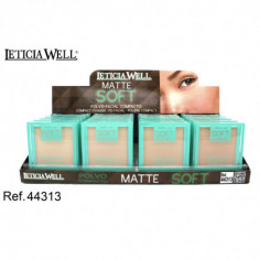 POLVO COMPACTO  MATTE SOFT (0.75€'¬ UNIDAD) PACK 20  LETICIA WELL