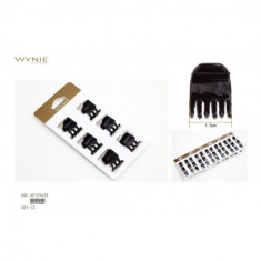 PINZAS PARA CABELLO NEGRAS (0.50€'¬ BLISTER) PACK 12 BLISTERS  WYNIE