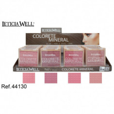 COLORETE MINERAL 4 COLORES (0.60€'¬ UNIDAD) PACK 24  LETICIA WELL