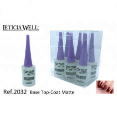 BASE + TOP-COAT MATTE (0,48 UNITE) PACK 6  LETICIA WELL