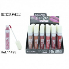 LIPGLOSS 24H. INFINITE 6 COLORES(0.65€'¬ UNIDAD) PACK 24  LETICIA WELL