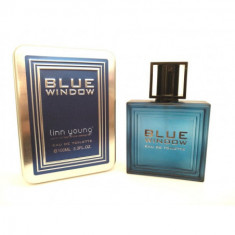 EAU DE TOILETTE  BLUE WINDOW  POUR HOMME 100ML.  LINN YOUNG