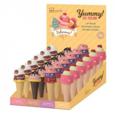 LIPBALM  YUMMY! ICE CREAM  4 SABORES(1.65€'¬ UNIDAD)PACK 24  IDC INSTITUTE