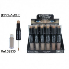 CORRECTOR DOBLE 6 COLORES (0.89€'¬ UNIDAD) PACK 24  LETICIA WELL