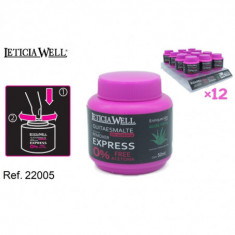QUITAESMALTE REMOVER EXPRESS  50ML.(0.65€'¬ UNIDAD) PACK 12  LETICIA WELL