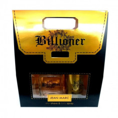 BILLIONER AFTER SHAVE  100ML+ DESODORANTE SPRAY 150ML.  JEAN MARC