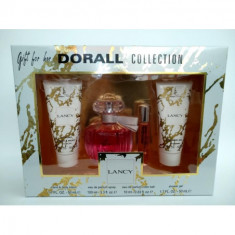 PACK REGALO  LANCY   POUR FEMME  DORALL COLLECTION