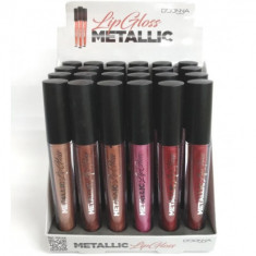 LIPGLOSS  METALLIC  6 COLORES (0.55€'¬ UNIDAD) PACK 24  d dONNA