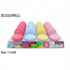 LIPBALM 4 AROMAS (0.52€'¬ UNIDAD) PACK 24  LETICIA WELL