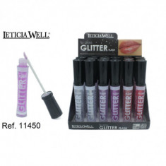 LIPGLOSS  GLITTER FLASH  6 COLORES (0.55€'¬ UNIDAD) PACK 24  LETICIA WELL