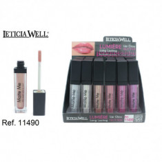 LIPGLOSS  GLITTER LUMIERE 6 COLORES(0.60€'¬ UNIDAD) PACK 24  LETICIA WELL