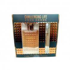 PACK REGALO  CHALLENGING LIFE  POUR HOMME  100+15ML.  REAL TIME
