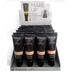 MAQUILLAJE FLUIDO 4 COLORES  50ML.(0.95€ UNIDAD) PACK 24  D'DONNA
