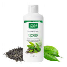 GEL DE BAÑO Y DUCHA  TE VERDE ADDICTION  750ML.  NATURAL HONEY