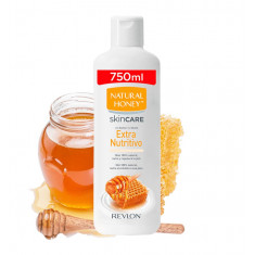 GEL DE BAÑO Y DUCHA  EXTRA NUTRITIVO  750ML.  NATURAL HONEY