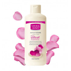 GEL DE BAÑO Y DUCHA  VELVET  650ML.  NATURAL HONEY