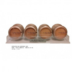 POLVO COMPACTO  4 COLORES (UNIDAD 0.66€'¬)PACK 16  MOMENT
