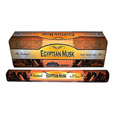 INCIENSO   EGYPTIAN MUSK  (0.31€ PAQUETE) PACK 6 PAQUETES  SARATHI INTERNACIONAL