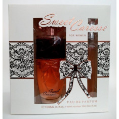 PACK REGALO PERFUME  SWEET CARESSE  POUR FEMME 100+10ML. REAL TIME
