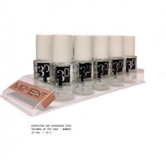 LACA DE UÑAS TOP COAT  VOLUMEN 3D  6,5CM. (0.9€'¬ UNIDAD) PACK 6  MOMENT